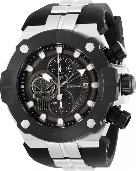 Invicta Marvel Justiceiro ( Punisher ) - Modelo 30316