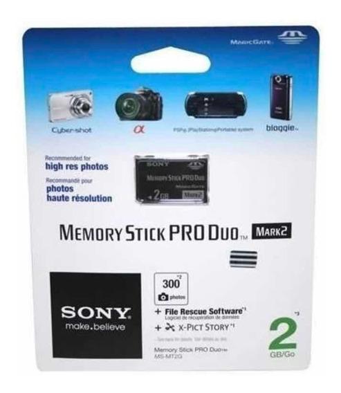 Cartão De Memória 2gb Sony Original