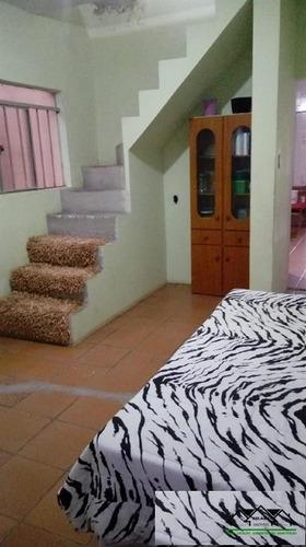 Casa Assobradada 143m²  Jardim Guarará - Santo André - Sp - Abca0081
