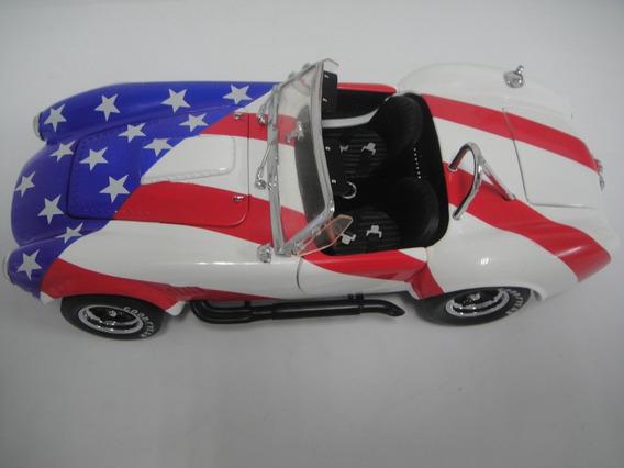 Star And Stripes Shelby Cobra 427 S/c 1966 - Franklin Mint