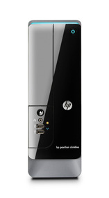 Computador Hp Intel Dual 4gb 500gb Torre Slim | Semi-novo