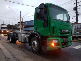 Iveco Tector 240e22 Chassi 6x2 Ideal P Roll On Munck Pipa