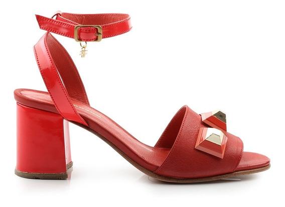 Sandalias Zapatos De Mujer De Cuero Brooke - Ferraro