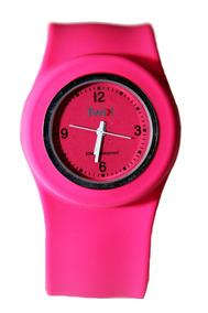 Relógio Twik Slap Pink *frete Gratis*