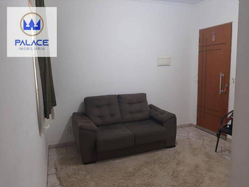 Apartamento Com 2 Dormitórios À Venda, 47 M² Por R$ 130.000,00 - Jardim Santa Isabel - Piracicaba/sp - Ap0881