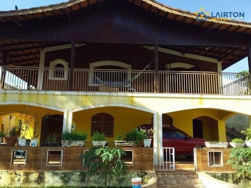 Chácara À Venda, 630 M² Por R$ 530.000,00 - Chácaras Fernão Dias - Atibaia/sp - Ch1263