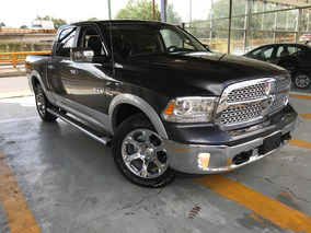 Dodge Ram Crew Cab Laramie V8 5.7l 4x4 Piel Quemacocos Gps