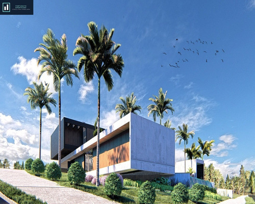 Imagem 1 de 6 de Casa De Alto Padrão Para Venda Em Condomínio Fechado! - Ca00092 - 67811213