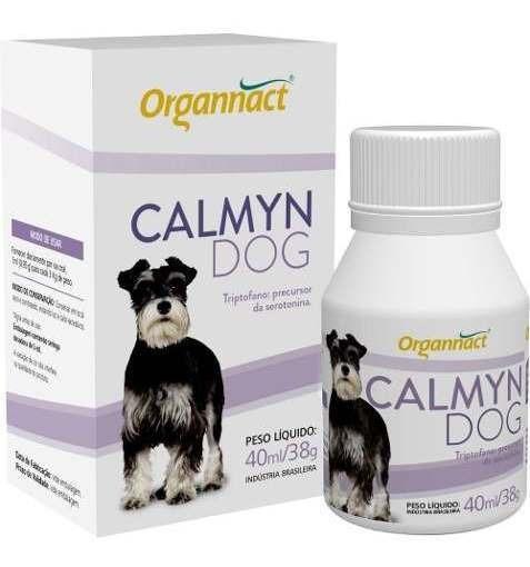 Calmyn Dog 40 Ml Organnact 40ml Pet Shop Store