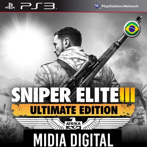 Sniper Elite 3 Ultimate Edition - Ps3 Psn*