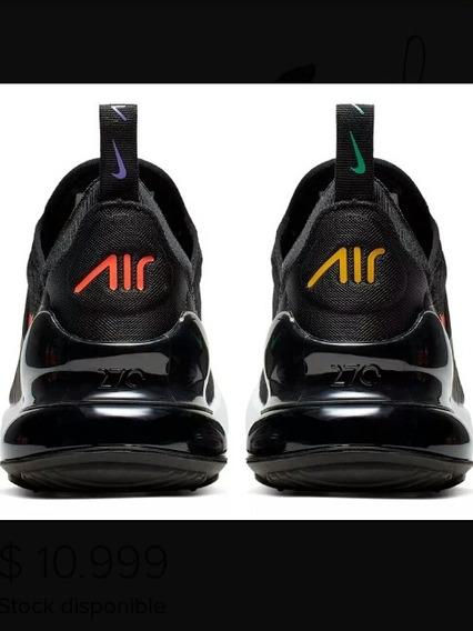 Sapatillas Nike Air Max Color Negro