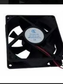 Ventilador Cooler Ventoinha 80x80x25 - 12v