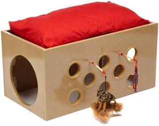 Smartcat Bootsies Litera Y Sala De Juegos Para Gatos