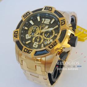Relógio Invicta Pro Diver 25853 Original Banho Ouro 18k