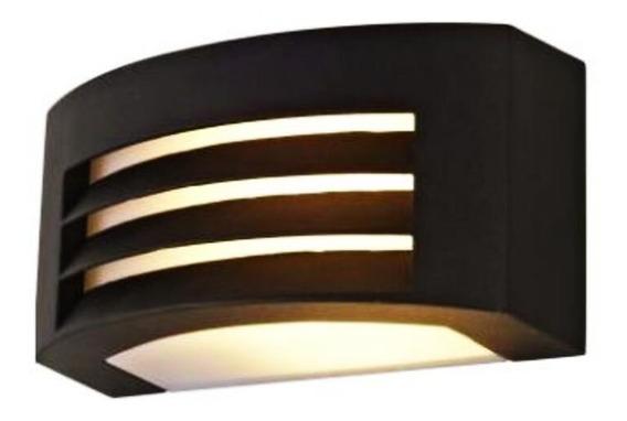 Lámpara Exterior Arbotante Alum Grafito Decorativa E27 Calux
