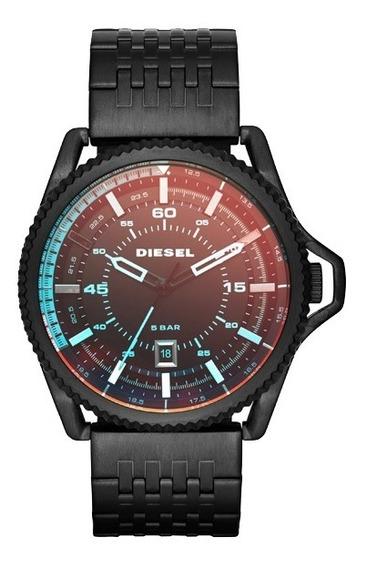 Relógio Diesel Masculino Rollcage Analógico Preto Dz1720/1pn