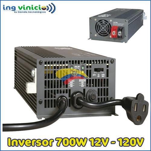 Imagen 1 de 6 de Inversor Cargador De Voltaje Tripp-lite Aps700hf 700w 120v