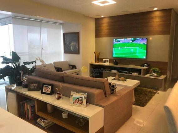 Apartamento Com 3 Dormitórios À Venda, 115 M² Por R$ 1.250.000 - Campestre - Santo André/sp - Ap2625