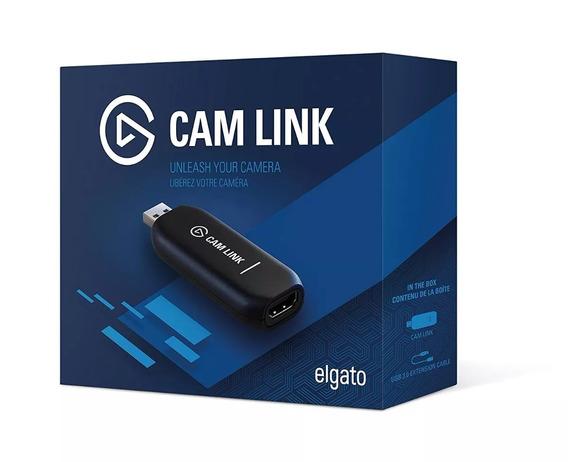 Elgato Cam Link Camlink Dispositivo De Captura Hdmi P/ Dslr