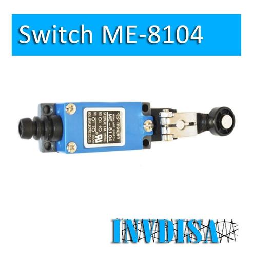 Imagen 1 de 2 de Sensor Micro Limit Switch Nc / No Me-8104 - Facturado