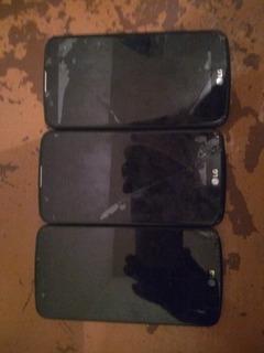 Carcaças Do Celular LG K10 Com Defeito Para Pesas