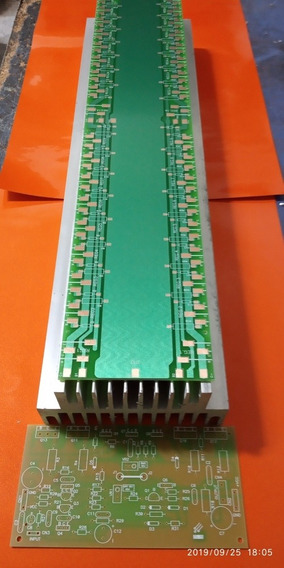 Placa Lisa Amplificador 3200w /serve Potencia Behringer