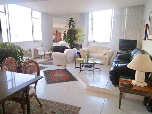 Apartamento Com 3 Dormitórios À Venda, 160 M² Por R$ 2.900.000,00 - Leblon - Rio De Janeiro/rj - Ap5808