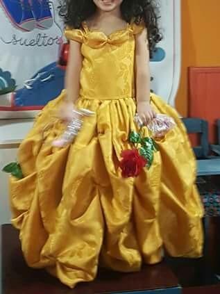 Vestido Bella . De Bella Y Bestia