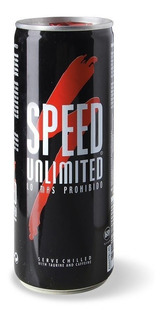 Speed Unlimited Energy Drink 250 Ml Pack Por 24 Unidades