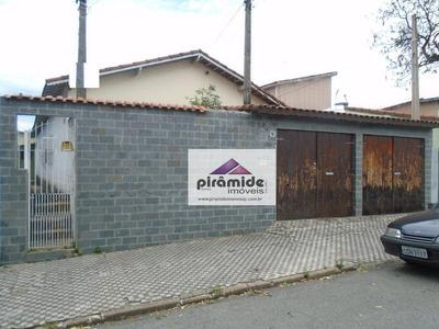 Casa Residencial Para Venda E Locação, Vila Maria, São José Dos Campos. - Ca2509