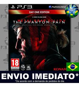 Metal Gear Solid V Ps3 Promoção Pronta Entrega Midia Digital
