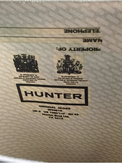 Botas De Lluvia Hunter