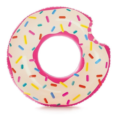 Boia Donuts Inflável Praia Piscina Homer Simpson Anel 70cm