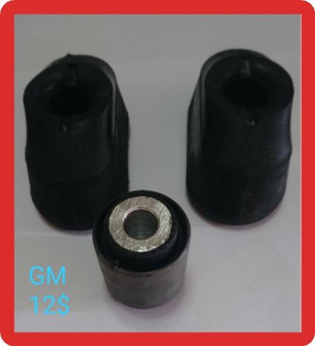 Bases Caja Motor Huesito Aveo (kit De Gomasdereparación) Gm