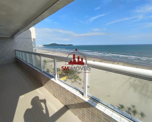 Cobertura Frente Ao Mar Com 3 Dormitórios Na Aviação Praia Grande - Co00022 - 68989674