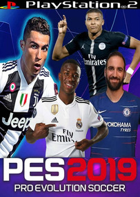 Pes 2019 Atualizado ,jogos Ps2, Lançamento - Maio