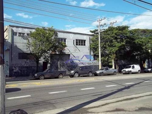 Imagem 1 de 18 de Galpão Para Alugar, 2000 M² Por R$ 20.000,00/mês - Jardim Aricanduva - São Paulo/sp - Ga0168