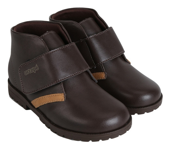 Bota Infantil Coturno Ortopé Baby Boot Masc | Gaby Calçados