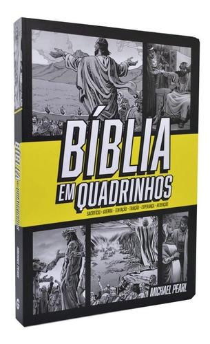 Imagem 1 de 9 de Bíblia Em Quadrinhos Capa Dura Amarela - Michael Pearl