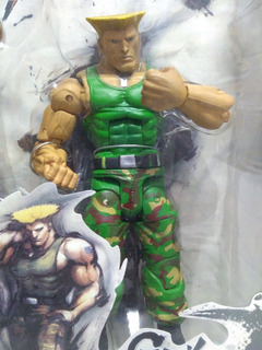 Muñeco Guile Street Fighter. (béccar, San Isidro)