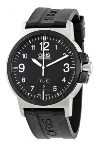 Relógio Suíço Oris Bc3 Advanced Automatico Preto/borracha