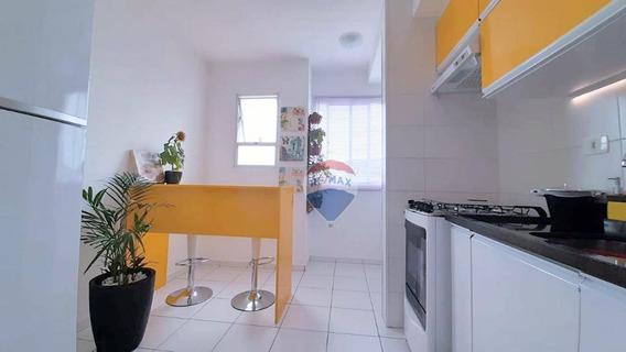 Apartamento Com 2 Dormitórios À Venda, 50 M² Vida Bella 2 - Vila Bela Flor - Mogi Das Cruzes/sp - Ap0364