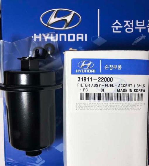 Filtro De Gasolina Hyundai Accent 1.3 / 1.5 - Dodge Brisa