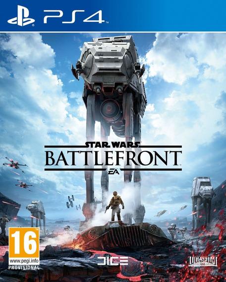 Jogo Star Wars Battlefront Ps4 Física Português Frete Grátis