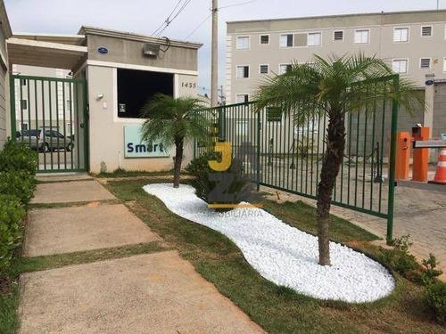 Ótimo Apartamento À Venda Com 2 Dormitórios, 52 M² Por R$ 200.000 - Aparecidinha - Sorocaba/sp - Ap6933