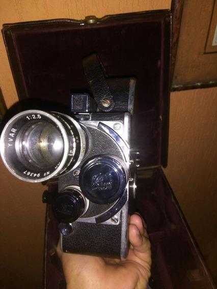Câmera De Filmagem Pallard A Corda Década De 30