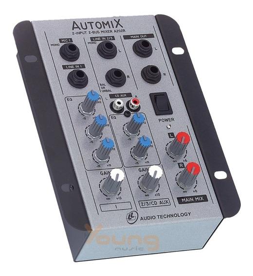 Mesa Som Automotiva Automix A202r - 2 Canais Nca Ysm