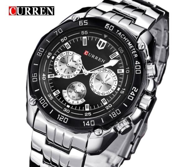 Relógio Curren Masculino Importado Original 8077 Nota Fiscal