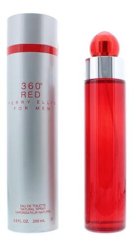 Perfume Locion 360 Red Perry Ellis 6.7 H - L a $850
