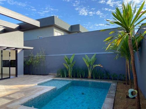 Casa Com 3 Dormitórios À Venda, 268 M² - Santa Luisa - Ribeirão Preto/sp - Ca1893